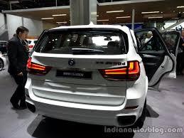Bmw X5 50d - rear fascia of the 2014 bmw x5 m50d indian autos blog