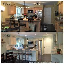 kitchen cabinet transformations article by linda trentini white kitchen cabinets with granite