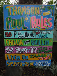 Home Decor Signs And Plaques 10 Small Ultimate Pool Plaque Fran U0027s Country U0026 Tropical Signs