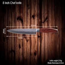 japanese handmade kitchen knives handmade japanese vg10 damascus steel kitchen knives set 8