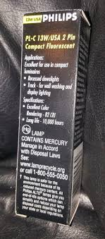 fluorescent l disposal cost x2 philips compact fluorescent l pl c 13w usa 27 light bulb gx23