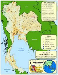 Thailand World Map by Thailand Worldmap Org