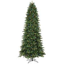 shop ge 9 ft pre lit frasier fir artificial tree with