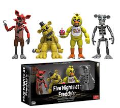 five nights at freddy s halloween update 19 99 five nights at freddy u0027s collectible figure 4 pack 1