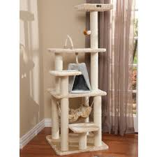 Outdoor Cat Condo Plans by Armarkat Classic Cat Tree A6501 Cat Furniture U0026 Towers