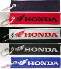 honda motorcycle logos modern suede patches and key chains honda motorcycles key chain