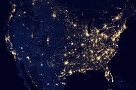 new map of the earth s lights gis lounge