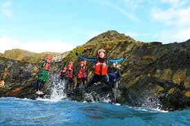 family coasteering days out pembrokeshire wales