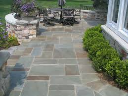Paving Stone Designs For Patios Best 25 Bluestone Patio Ideas On Pinterest Slate Patio Patio