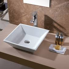 Modern Sinks Bathroom Modern Bathroom Sinks With Brown Paint Wall Also Soap