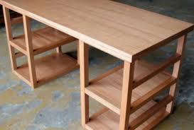 fabrication d un bureau en bois fabriquer un bureau en bois maison design design de maison