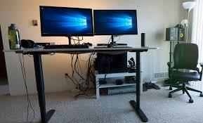 Sit Stand Desk Ikea by Under Desk Cable Management Ikea Decorative Desk Decoration