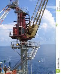 Pedestal Crane Offshore Crane Royalty Free Stock Photography Image 812927