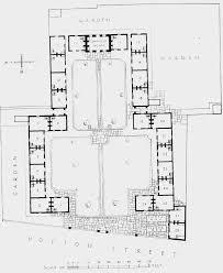 ground plan plate 74 hopton u0027s almshouses ground plan british history online