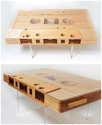 cassette tape coffee table for sale mixtape coffee table