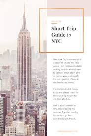 nyc guide short trip guide to new york city
