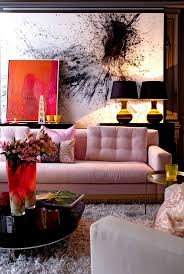 9 pretty in pink rooms for your feminine side pink sofa shag
