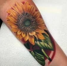 best 24 sunflower tattoos design idea for women tattoos art ideas