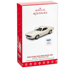 classic american cars 1969 ford mustang 429 ornament