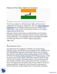 Flag Congress History Of The Indian National Congress Pakistan Studies Handout