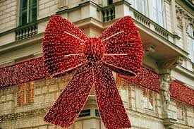 large lighted christmas bow large christmas bows happy holidays
