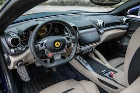 ff interior test drive gtc4lusso cool
