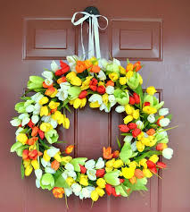 Easter Decorations For Your Front Door by 193 Best Every Season A Wreath Images On Pinterest Front Doors