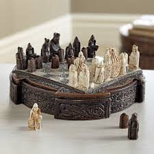 miniature isle of lewis chess set national geographic store