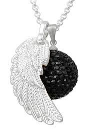 bola koru black bola chime with wing fairyofpregnancy