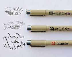 sakura pigma micron pen review u2014 alan li