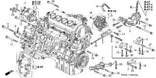 honda car engine diagram honda wiring diagrams instruction