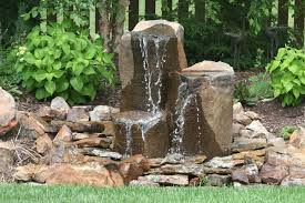 Rock Fountains For Garden Garden Rock Garden Pinterest Rock