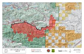 Wildfire Map Illegal 4 Foot Drone Shut Down Aerial Firefight Over Lake Fire