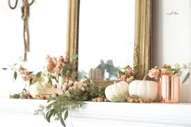 simple autumn decorating french country cottage