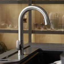 kohler touchless kitchen faucet grohe essence new semi pro single handle pull down kitchen faucet