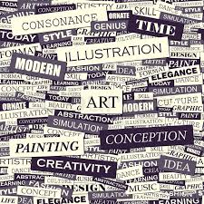 pattern design words art seamless pattern concept related words in tag cloud