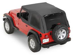 Jeep Wrangler 1998 Rampage Products Frameless Trail Top For 97 06 Jeep Wrangler Tj