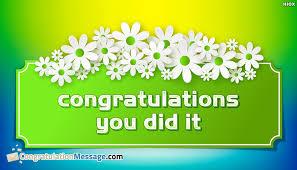 congratulations message for award