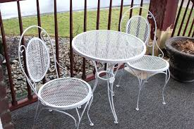 How To Paint Metal Patio Furniture - porch projects inspired by charm