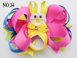 easter hair bows online shop free shipping 50pcs newest easter hair bows easter