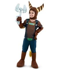 Youth Boys Halloween Costumes Ratchet Clank Ratchet Costume Boy Costume