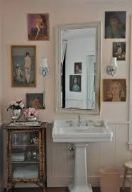 Mirror Decals For Bathrooms - easy reversible design ideas for rental bathrooms apartment therapy