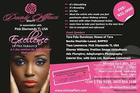 how to be a professional makeup artist dainty affairs beauty pink diamonds present excellence in the