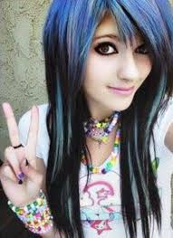 cute emo hairstyles for long hair hair styles i want pinterest