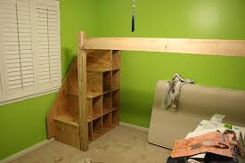 Bunk Bed Plans With Stairs How Pleasure Diy Bunk Bed With Stairs Bedroom Design Ideas