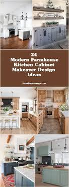 kitchen cabinet makeover ideas 24 modern farmhouse kitchen cabinet makeover design ideas