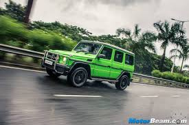 mercedes g wagon green mercedes g class motorbeam indian car bike news review price