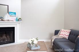 the perfect greige paint color a houseful of handmade