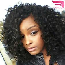 loose curly hairstyles for women with weave hairstyle