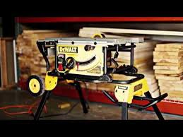 dewalt table saw review dewalt table saw review youtube